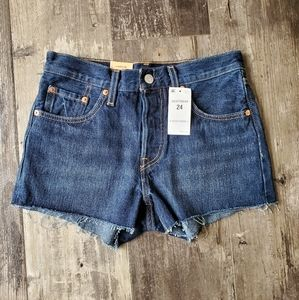 Levi shorts 24